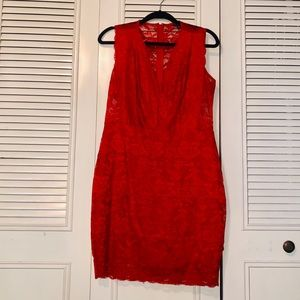GUESS Katrina Illusion Dress